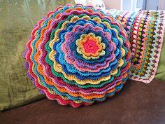 Blooming flower cushion - Tadaaah!