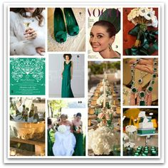 Emerald Green Wedding Inspiration  Nottingham wedding planner