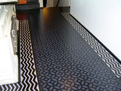 Chenery House Kitchen Floor by Gracewood Design