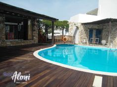 Another view of the pool Aloni Paros hotel Suite Room Hotel, Hotel Suites, Paros Island, Greece, Outdoor Decor, Home, Design, Flats