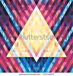 Geometric background - vector seamless pattern for design music albums, posters, flyers. Also perfect for web design, textile design and other.