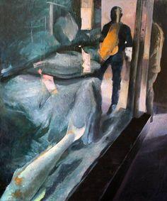 "Saatchi Art Artist Ioan Stefan Botis; Painting, ""Aquarium life"" #art"