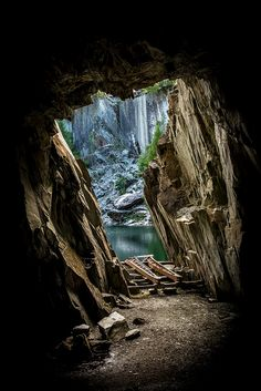 Hodge Close Quarry, near Coniston, Cumbria. Photo by Dave McNally. - looks very mysterious
