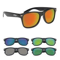 fb55a9f59e7 Mirrored Malibu Sunglasses Shades
