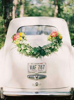 Un coche genial para una boda.