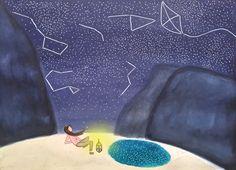 Vedi il mio progetto @Behance: \u201cThere was a starry night!\u201d https://www.behance.net/gallery/51633109/There-was-a-starry-night