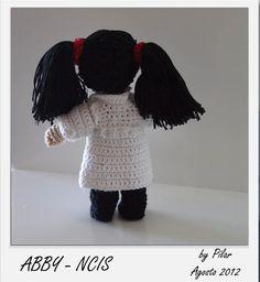 Abby #NCIS #amigurumis