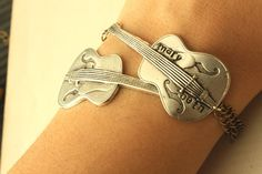 Personalized Guitar Bracelet