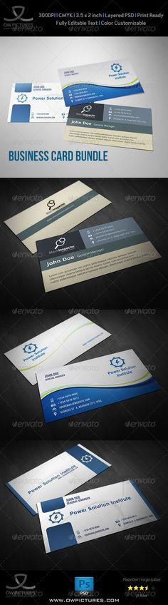 Corporate Business Card Bundle Vol.3