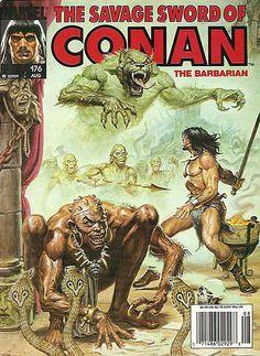 The Savage Sword of Conan - 176