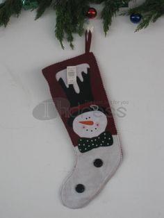 Christmas stockings ( snow head jaggies )
