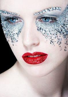 maquillaje fantasía bailarinas navidad - Google Search