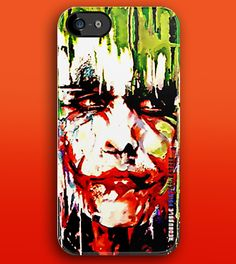 Batman Joker Abstract art Painting apple iphone 5, iphone 4 4s, iPhone 3Gs, iPod Touch 4g case