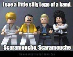 Queen - Bohemian Rhapsody Lego