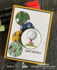 Birthday Cards For Boys, Masculine Birthday Cards, Masculine Cards, Male Birthday, Card Making Kits, Making Ideas, Hand Stamped Cards, Beautiful Handmade Cards, Stamping Up Cards