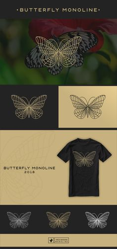 "Check out my @Behance project: ""BUTTERFLY MONOLINE"" https://www.behance.net/gallery/60424457/BUTTERFLY-MONOLINE"