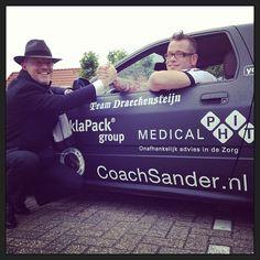 CoachSander.nl is sponsor van Team @Draeckensteijn The Cannonball Run 2013 (Zwolle - Bristol)