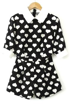 Female-chic Sweetheart Rompers