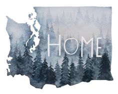 Original Artwork by Saylah Leu. I'm very proud to be from the pacific northwest. Right now I live in the eastern part of WA state. But every time I drive through the mountains to the westide side, I am captivated by the high hills, the mountains, the mist.. the moment crossing through the trees, it's like walking through the front door and knowing I'm home.