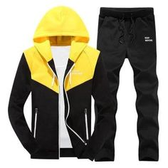 Snowman Lee Mens Big and Tall Retro Pullover Hoodie Tracksuit Jogging Sweat Suit Set