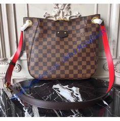 0098270bd054 Louis Vuitton Damier Ebene South Bank Besace N42230