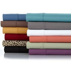 Concierge Collection Platinum 1200 Thread Count Easy Care 3-piece Sheet Set - Twin - Red
