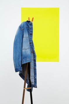 DENIM JACKETS, FROM This wardrobe classic was once much maligned, thanks to Anthony Costa, Dane Bowers and other erstwhile boy band members, but let's forget about them. Looks best when worn with. Foto Fashion, Fashion Shoot, Clothing Photography, Fashion Photography, Photography Ideas, Foto Still, Oki Doki, Fashion Still Life, Lacoste