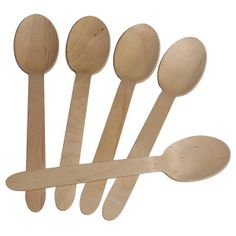 to use when making hot chocolate on a stick :)  Eco-gecko Disposable Wooden Spoon Heavy Weight 100 / Pack
