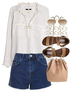 """""""Outfit for summer"""" by ferned ❤ liked on Polyvore"""