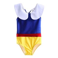 Snow White Inspired Swimsuit for Baby Girl Disney by RandomRegalia