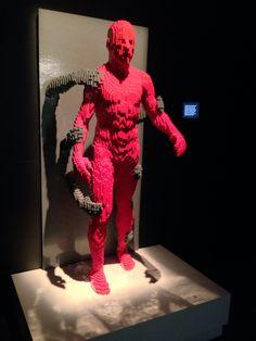 Nathan Sawaya, NYC exhibit.