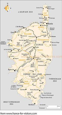 plan de Corse