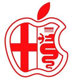 Cool like the apple company Alfa Romeo Logo, Alfa Romeo 156, Alfa Romeo Cars, Alfa Bertone, Alfa Alfa, Maserati Car, Ferrari, Alfa Cars, Car Logos