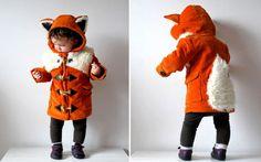 Ce manteau, pour votre petit renardeau