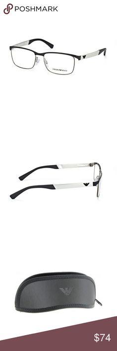 f7f4122ade EA1057-3001-52 Men s Black Frame Eyeglasses New gorgeous authentic Emporio  Armani EA1057-