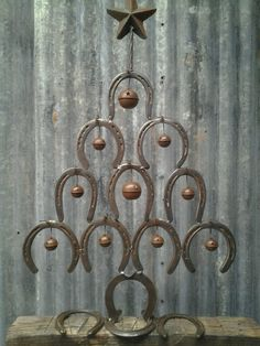 ~ Horse Shoe Tree ~ Hey Ron Adams, can you make this?!!! Pleeeze!