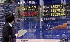 """أزمة كوريا تضغط على الأسهم اليابانية ومؤشر """"جيه بي إكس - نيكاي"""" ينخفض 0.6 %: زاد التوتر السياسي المحتدم في شبه الجزيرة الكورية ومناطق أخرى…"""