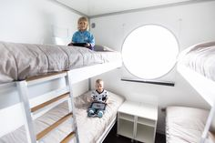 A unique holiday in the Lakeland of Finland with a self-driving houseboat! Houseboats, Self Driving, Finland, Loft, Bed, Unique, Holiday, Furniture, Home Decor