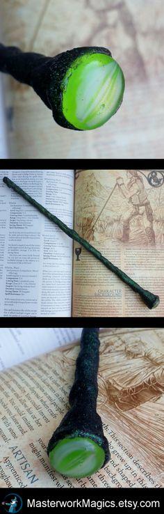 Rhaegal magic wand by Masterwork Magics. #magic #wand