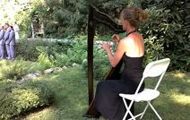 Your ceremony feels eloquent when accompanied by a Harpist such as Shelley Otis.