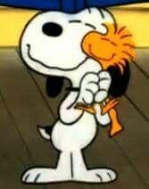 Oh Woodstock...you're my best friend!!