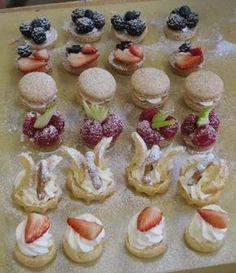 Class in Session: Petit Fours Tea Recipes, Sweet Recipes, Dessert Recipes, Cupcakes, Cupcake Cakes, Tee Sandwiches, Pink Dessert Tables, High Tea Food, Brunch Bar