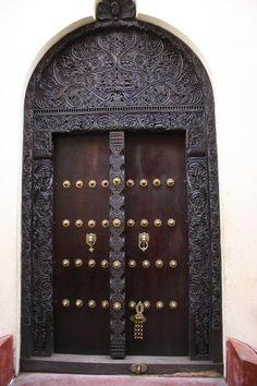 Kenyan Door (Lamu Island, Kenya)