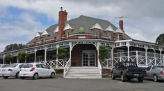 The Dunalley Hotel. Dunalley is the gateway to the Tasman Peninsula. Article for www.think-tasmania.com