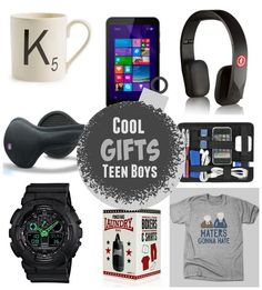 cool gift ideas for teen boys