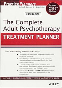 The Complete Adult Psychotherapy Treatment Planner: Includes DSM-5 Updates 5th Edition by Arthur E. Jongsma ISBN-13: 978-1118067864 ISBN-10: 111806786X Child Psychotherapy, How To Control Anger, D Mark, Art Therapy, Play Therapy, Therapy Activities, Speech Therapy, Therapy Tools, Cognitive Behavioral Therapy