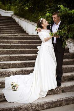 """Очаровательная невеста в платье """"Гвинет"""""""