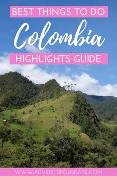 Travel to Colombia a