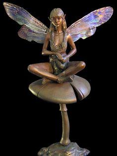 Large Sitting Fairy Garden Ornament | Fairy, Gardens And Fairy Garden  Ornaments