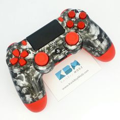 Red Reaper PS4 Controller Shipping Out from www.KwikBoyModz.com  #KwikBoyModz #CustomController #CustomControllers #Controller #Controllers #ModdedController #ModdedControllers #NewController #ControllerMods #Gaming #Gamer #GamerGirl #GirlGamer #Gamers #PS4 #DS4 #PS4Controller #DualShock4 #CustomPS4Controller #ModdedPS4Controller #ReaperSkulls #Reaper #TheRedReaper